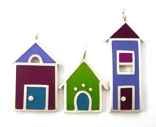 drie huizen